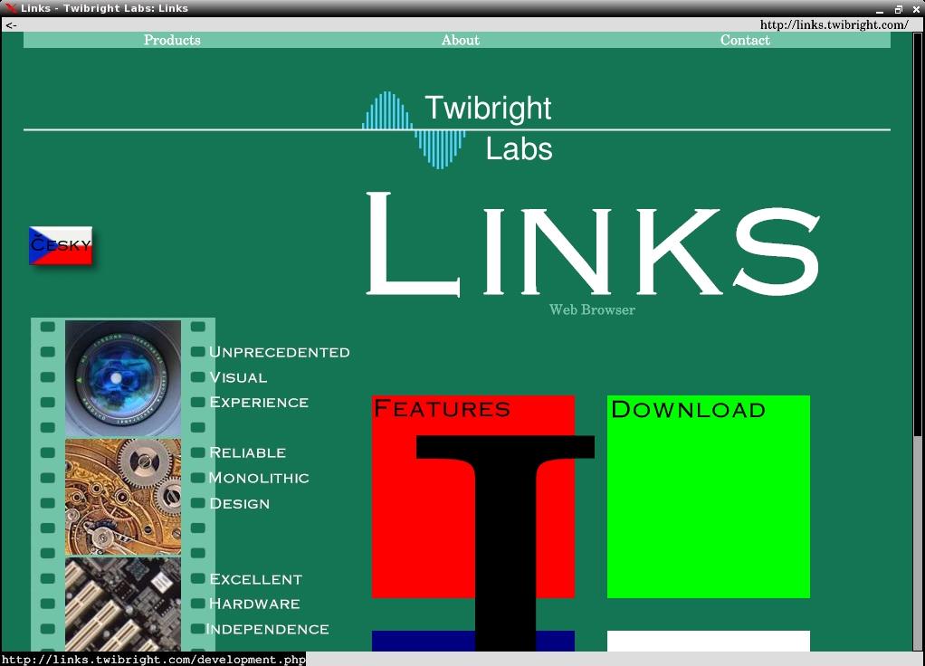 Links2 2.1pre21 - Скриншот 1