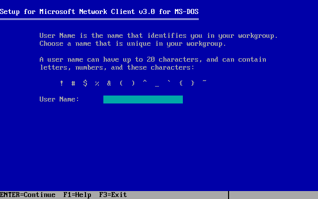 Microsoft Network Client 3.0 installation - Screenshot 8